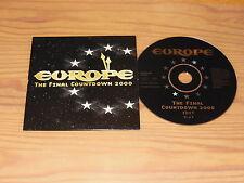 Europe-The Final conto alla rovescia 2000/1 Track Maxi-CD 1999 (cardsleave)