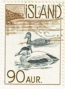 Iceland Fauna Birds Eider Ducks stamp 1959