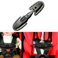 Toddler Black Chest Clip Safety Strap Car Seat Belts Kids Safe Lock Buckle