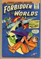 Forbidden Worlds #129-1965 vg 4.0 Magicman Ogden Whitney ACG