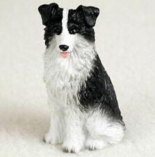 Border Collie Tiny Ones Dog Figurine Statue Pet Lovers Gift Resin