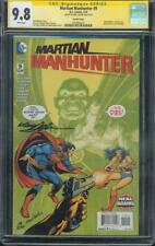 Martian Manhunter 9 CGC SS 9.8 Neal Adams Batman 232 Top 1 Homage Variant cover