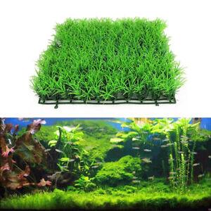 Artificial Plant Aquarium Water Aquatic Fish Tank Fake Grass Lawn Landscap Decor