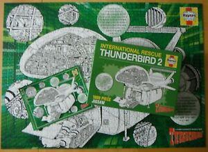 HAYNES INTERNATIONAL RESCUE THUNDERBIRD 2    JIGSAW PUZZLE  1000 PIECES