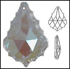 Swarovski BULK x 12 Crystal Baroque 38mm AB Clear FRENCH CUT Suncatcher