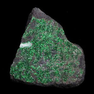 Bright Green Uvarovite Garnet - Saranovskii Mine, Russia - Ex. Kidwell!