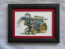 Traction Engine Stunning Framed & Mounted Postcard **Offers** #4