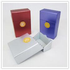 3 x Zigarettenetui HAMBURG Kunststoff Zigarettenbox 20 Zigaretten Gr. L sortiert