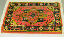 Antique Silk Rug For Dollhouse Luxury Cigarettes & Zira Switzerland Flag On Back