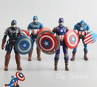 2016 Captain America Civil War Action Figures 4pcs Set Boy Children Gift 6'' New