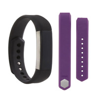 Fitbit Alta Activity Tracker Small Bundle with Small Plum Band FB158ABPMS