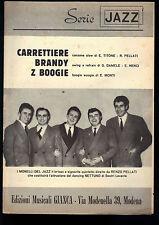 SERIE JAZZ # CARRETTIERE - BRANDY - Z BOOGIE # SPARTITO - TROMBA IN SIb