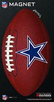 NFL Football Stockdale Dallas Cowboys 6 x 12 Logo Die Cut Magnet NEW