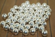 60 pieces of Silver Plated Metal Beads 10mm - A1313a+