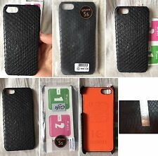 HANDMADE 100% GENUINE SNAKE PYTHON BLACK BELLY LEATHER iPHONE 5/5s COVER CASE