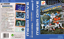 PROBOTECTOR UK PAL Sega megadrive caja de sustitución Arte Manga/Insertar. REPRO.