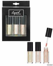 Style Essentials Women's Cosmetics LIQUID HIGHLIGHT 3 pc Shimmer Glow Makeup