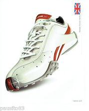 PUBLICITE ADVERTISING 056  2004   Reebok  chaussures basket Classic Vanta