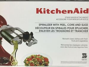 KitchenAid Spiralizer Attachment with Peel, Core and Slice Attachment #Gik