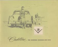 1950 CADILLAC Brochure / Catalog: 61 COUPE / SEDAN,62,60,75,Convertible