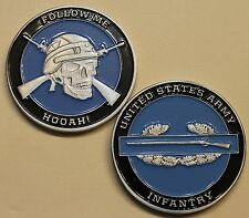 Combat Infantry US Army Challenge Coin