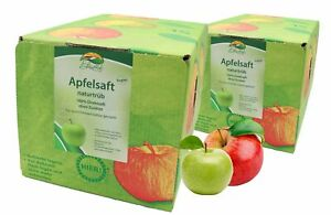Bleichhof Apfelsaft naturtrüb – 100% Direktsaft, Bag-in-Box (2x 5l Saftbox)