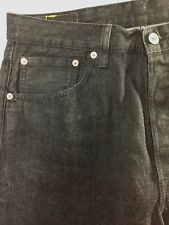 Levi's 501 Jeans W34 L32 Black Button Fly
