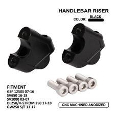 CNC Handlebar Riser For Suzuki GW250 S/F GSF1250S SV650 SV1000 DL250/V-STROM 250