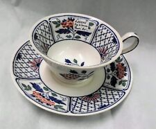 Wedgwood 'Cheadle' Cup and Saucer Set  -  1913