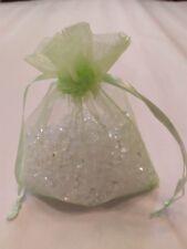 """30 Light Green 4 x 4.5""""Organza Gift Bag Pouch Wedding Favor"""