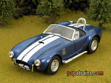 Die Cast Blue 1965 Shelby Cobra 427 S/C G Scale 1:32 By Kinsmart Diecast