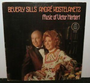 BEVERLY SILLS ANDRE KOSTELANETZ MUSIC OF VICTOR HERBERT (NM) 37160 VINYL RECORD
