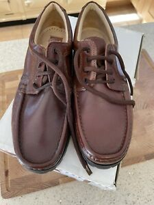 Men's Brown Shoes From HENLEY UK Size 6 Fantastic Condition Wide Fit