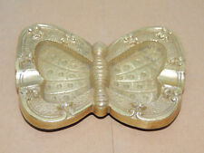 Brass Butterfly Ashtray over 4 inches  (13843)