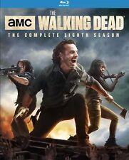 AMC THE WALKING DEAD SEASON 8(BLU-RAY)W/SLIPCOVER.   New!