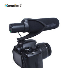 Commlite Video Shotgun Mic Microphone for Nikon Canon DSLR Camera DV Camcorder