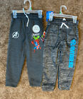 2 Pack Of Marvel Youth Avengers Sweatpants w/ Pockets Sz 5 NEW