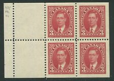 CANADA #233a MINT BOOKLET PANE VF