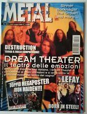 METAL SHOCK N°311/2000 DREAM THEATER DESTRUCTION SINNER BORKNAGAR THE CROWN