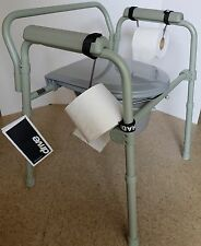 TOILET PAPER HOLDER DISPENSER FOR BEDSIDE COMMODES & WHEELCHAIRS BY TOPAHADI