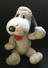 Vintage 1980's Pound Puppies TV Show plush Cooler Jointed Grey Gray Puppy Dog L