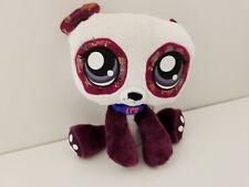 2007 Hasbro Purple Panda Littlest Pet Shop LPS Plush