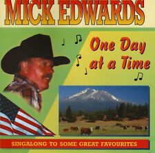 MICK EDWARDS ONE DAY AT A TIME CD FREE POST UK ref 023 18 Songs