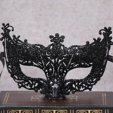 Fashion Venetian Black Filigree Masquerade Ball Mask Party Fancy Dress Christmas