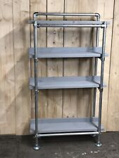 Handmade Industrial Shelving Unit,Scaffold Shelves, Scaffold Shelf. Bookshelf