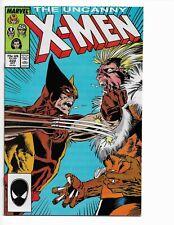 X-MEN 222 - NM 9.4 - WOLVERINE VERSUS SABRETOOTH (1987)