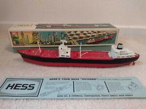 1966 Hess Voyager Truck / Ship w/ Original Box & Card