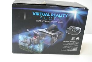 Virtual Reality Scope (Headset for smart phones) Android IOS & Google Cardboard