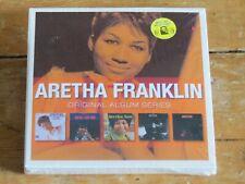 NEW/SEALED 5 CD ARETHA FRANKLIN Original Album Classics Series