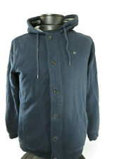 Quicksilver Men's Full Zip Lined Hoodie Jacket Size Large